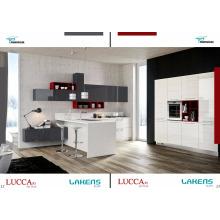 Neuer Ankunfts-Insel-Entwurfs-hoher Glanz-Küche-Kabinett