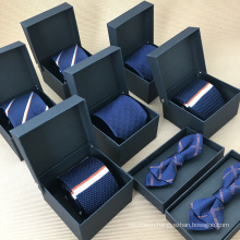 Wholesale Paper Handmade Bow Tie Packaging Box with Custom Logo Printed