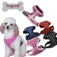 Gilet de manipulateur de chien d'étoiles confortable maille confortable d'animal familier 2018 nouveau harnais de gilet à la mode de conception de chien