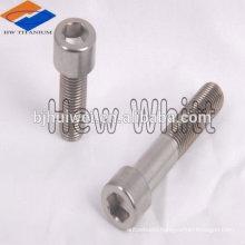 Baoji factory GR5 titanium allen head bolt