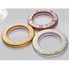 Petits oeillets à rideaux anneaux en plastique pour rideaux Vente chaude