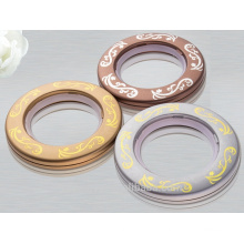 Small curtain eyelets plastic curtain rings for curtains hot selling
