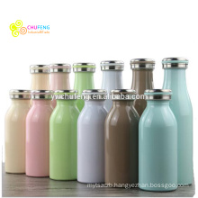 LOGO customized Stainless steel 304 wholesale Ms& children gift Milk bottle thermos flask vacuum cup
