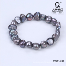 Hand Made Bracelet Made of Beads with Pearl