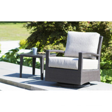 Resin Wicker Garden Outdoor Rattan Furniture Patio Causal Sofa Set