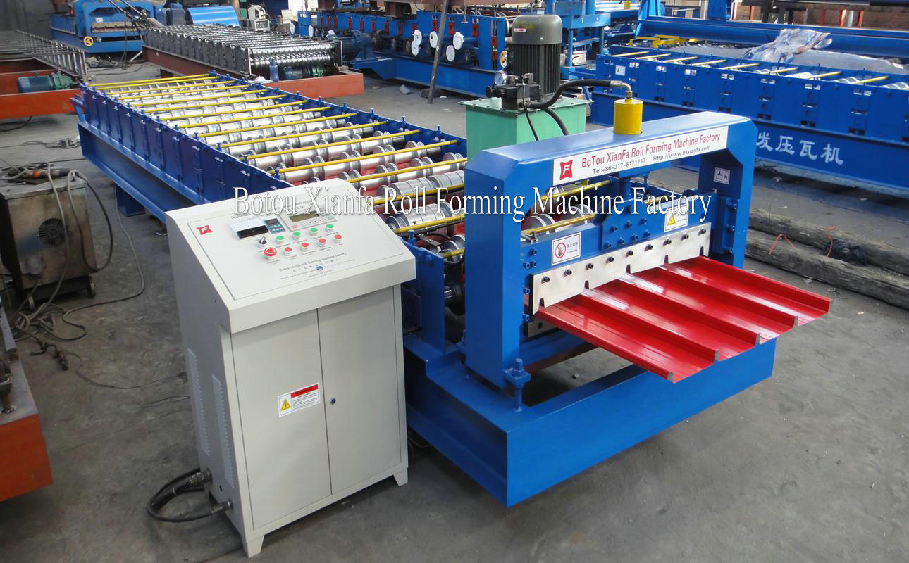 hidden joint roll forming machine