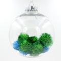 Bolo de bola de Natal sem costura de plástico de 100 mm