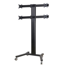 "Public TV Floor Stand 6-Monitor 10-24"" (AVD 006B)"
