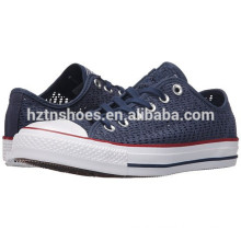 Cheap Wholesale Canvas Shoes Ladies New Model Hollowed out Shoes