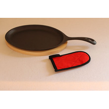 Non-stick Cast Iron Pan With Handle