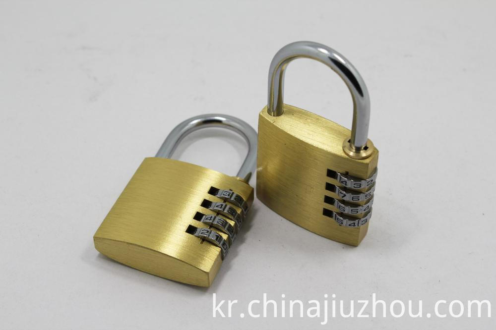40MM Size Brass Combination Lock