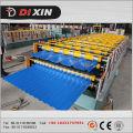 Rolo de aço da dupla camada hidráulica da telha da cor que forma a máquina