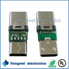 Разъем для подключения USB-разъема USB для женщин типа C USB-разъем