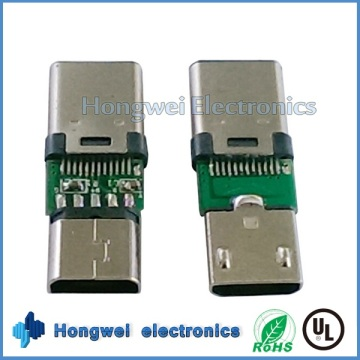 Männlich Micro USB zu Buchse Typ C USB Adapter Stecker