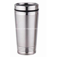 16oz Double Wall Stainless Steel Insulated Auto Mug