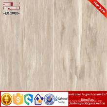 produtos de venda quente parecido com telhas de madeira parede de cerâmica fina vitrificada