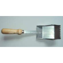 Cuchara de arena de mango y acero de carbono como herramienta de jardín