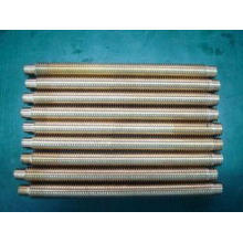 Steel alloy and brass threaded rod CNC turned precision gea