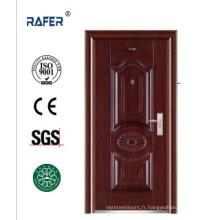 Porte en acier de type économique / porte en acier africaine (RA-S077)