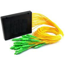 1 a 16 divisores PLC Box ABS
