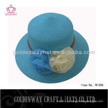 2013 Шляпа девушки с цветочным декором