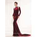 Long Sleeve Sexy Prom Party Formal Evening Dress