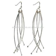Tassel long motif sans allergie Bohemia en acier inoxydable pour femmes drop dangle pendentifs Boucles d'oreilles bijoux