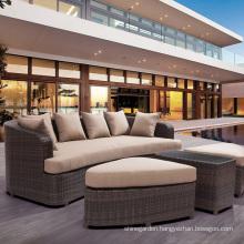 Garden Wicker Lounge Patio Sofa Set Outdoor Rattan Furniture