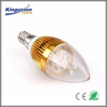 Kingunion Best Seller Factory Led Candle Light Series CE&RoHS Approved