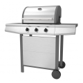 Three Burner Stainless Steel Gas Barbecue Grill