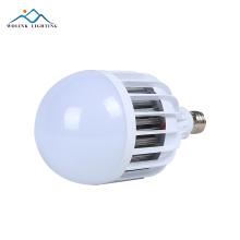Heißer verkauf E27 wiederaufladbare rohstoff notfall SMD 5730 18 watt 24 watt 28 watt led glühbirne