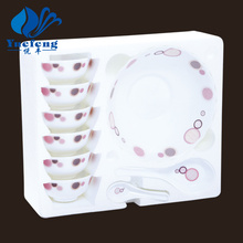 Heat Resistant Opal Glassware-14PCS Soup Set
