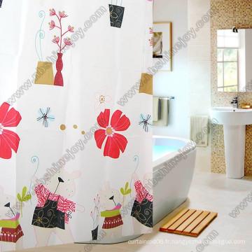 Rideau de douche style charmant