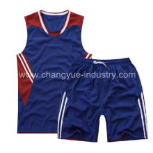 summer season new style basketball clothes for polyester material