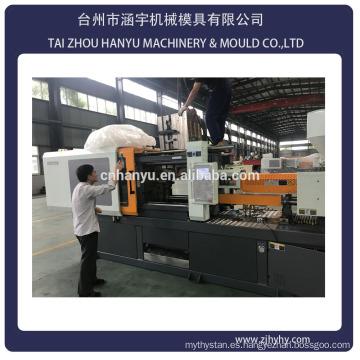 Máquina de moldeo por inyección de preformas máquina de moldeo por inyección vertical de 2400KN / botella