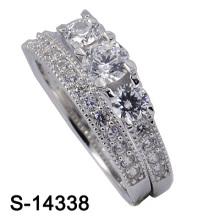 Neue Art- und Weisehochzeits-Ring-925 silberne Schmucksachen (S-14338. JPG)