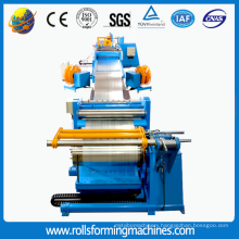 Automatic slitter cut to length line