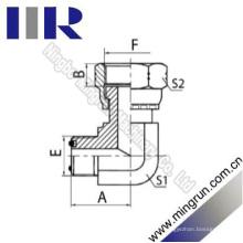 90 Elbow Orfs Male O-Ring / Orfs Buchse Hydraulikadapter (2F9)