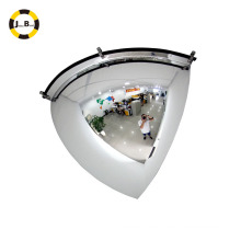 Espejo de cúpula cuadrada / espejo de vidrio convexo de seguridad interior
