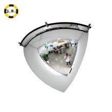 Quarter dome mirror/indoor safety convex glass mirror