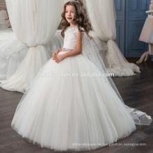 2017 Günstige Hochzeit Party Formale Blumen Mädchen Kleid sleeveless ballkleid perlen spitze mädchen hochzeitskleid