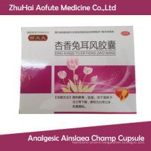 Analgesic Ainslaea Frangant Champ Herb Extract Capsule