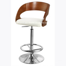 Modern Used Backrest Bent Plywood High Bar Stool (SP-BBC246)