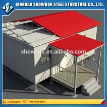 Design Light Steel Structure Modern Günstige Isolierte Prefab Häuser zum Verkauf