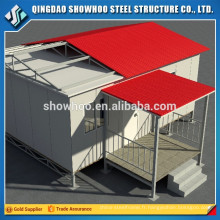 Design Light Steel Structure Modern Cheap Insulated Prefab Homes à vendre