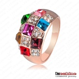 Multicolor CZ Championship Jewelry Ring (Ri-HQ0001)
