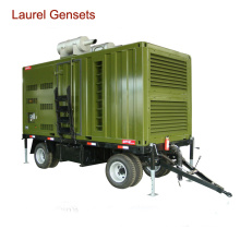 Mobile Generator Trailer Generator for Outdoor or Mobility Work