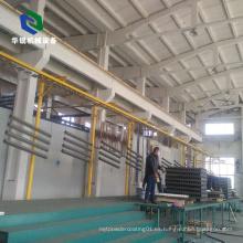 Línea de producción de revestimiento de polvo de aluminio automático personalizado