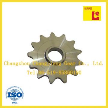 OEM Agricultural inoxidável transportador peças roda dentada