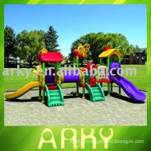 Parc d'attractions en plastique pour enfants en plastique